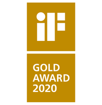 Премия iF product design GOLD award 2020
